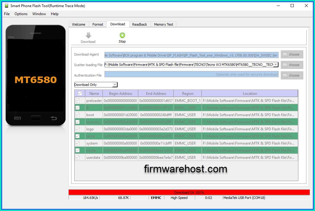 MediaTek Phones Firmware (Stock ROM)